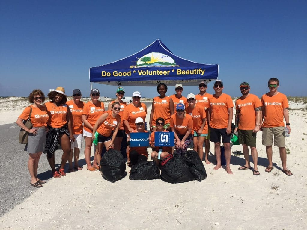 Huron Studer Group Beach Cleanup (1)